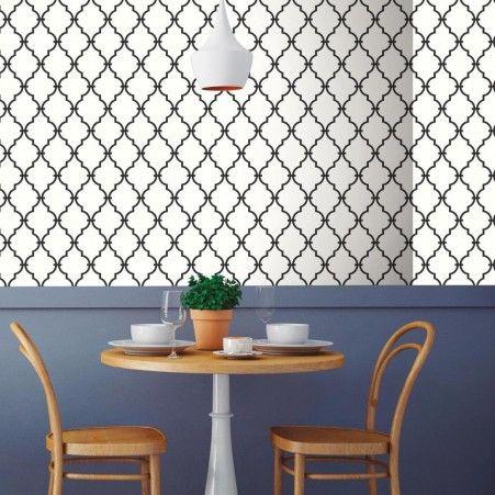 Modern Trellis Peel And Stick Wallpaper Modern Trellis Peel And Stick Wallpaper Roommate Decor