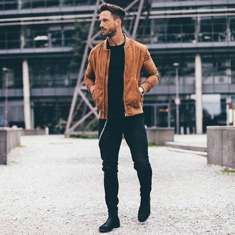 Nice style, Daniel F. Suede jacket by Zara Man