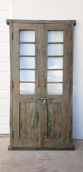 10 Pane Wood And Glass French Doors Antiquities Warehouse Panty Kitchendoors French Doors Glass French Doors Wooden French Doors