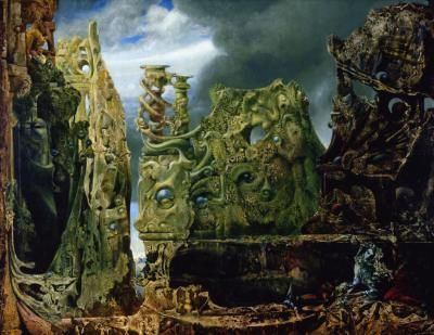 Max Ernst L Oeil Du Silence The Eye Of Silence 1943 44 Max Ernst Max Ernst Paintings Surrealism