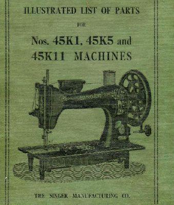 Singer 40K40 40K40 40K4040 Industrial Sewing Machine Parts Reference Extraordinary Industrial Sewing Machine Parts Manufacturers