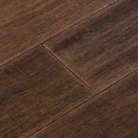 Cali Bamboo Fossilized 5 31 In Vintage Port Handscraped Bamboo
