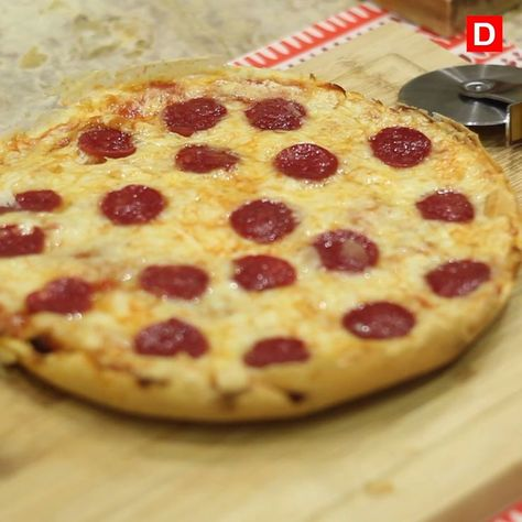 Pizza de frigideira: receita rápida e deliciosa
