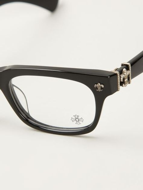 4371a6e717 Chrome Hearts Wayfarer Glasses - Monocle - Farfetch.com