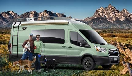 Image Result For Ford Transit High Roof Extended Recreational