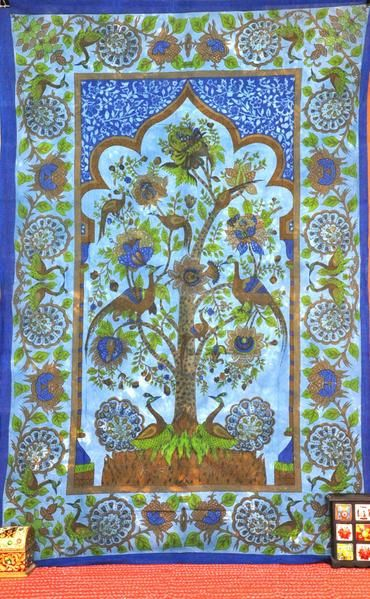 Temple Tree Of Life Tapestry Wall Hangings Dorm Tapestry Tree Of