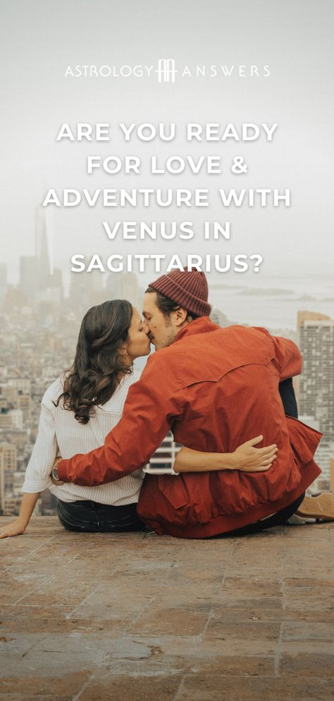 When Venus, the planet of love, enters lucky Sagittarius, love becomes an adventure. Find out everything you need to know about Venus in Sagittarius and how to utilize this energy to create the best December ever! #venusinsagittarius #sagittarius #venus #venusastrology #sagittariusplacements #loveastrology #sagittariusvenus