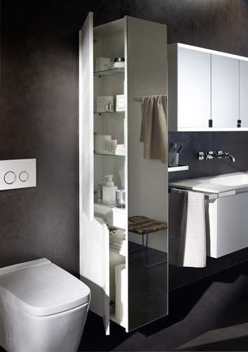 séparer wc et lavabo | sdbcouloir | pinterest | séparer, lavabo et