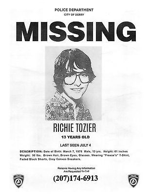Image Result For It Derry Police Movie Missing Poster Missing Posters Derry Poster Prints
