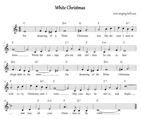 Blanca Navidad Audiciones Navidad Musica Partituras De Navidad Y Partituras Gratis