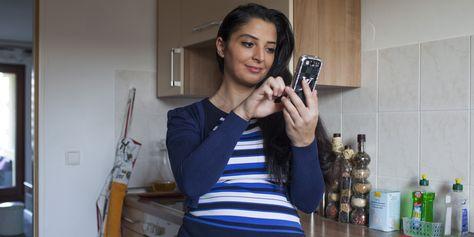 Smartphones in der Schwangerschaft