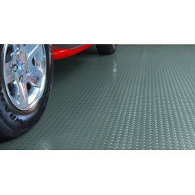 Flooringinc Diamond Nitro Rolls Standard Grade Stainless Steel 4 X4 Garage Flooring Roll Out Floor Protecting Mats Wa Garage Floor Floor Coverings G Floor