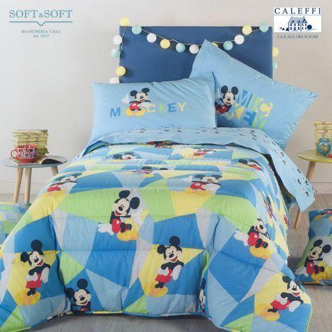 Trapunta Singola Caleffi Disney.Mickey Boys Trapunta Invernale Per Letto Singolo Disney Caleffi Trapunta Disney Trapunte Disney