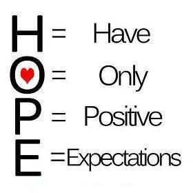 What Does Hope Mean To You? #positivityforreal #ThinkBIGSundayWithMarsha