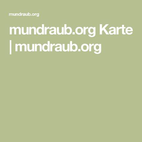 Mundraub Org Karte Goudenelftal