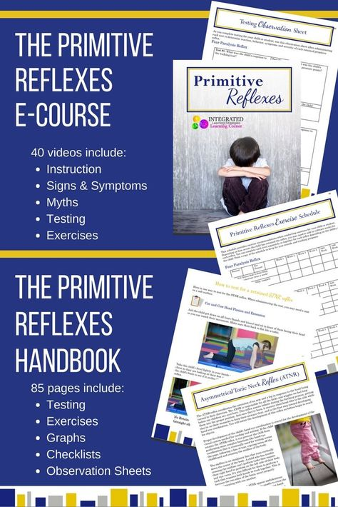 Primitive reflexes waitlist - Integrated Learning Strategies