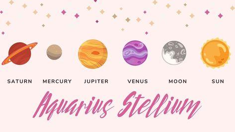 How the Aquarius Stellium can affect you Astrology & Tarot Report
