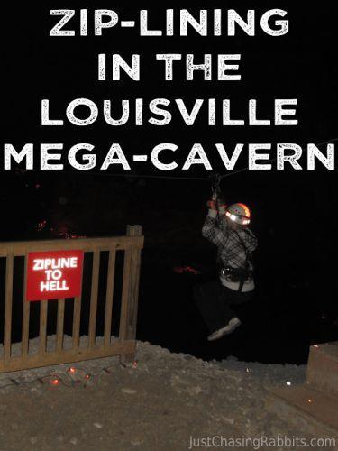 Zip Lining Underground At The Louisville Mega Cavern Louisville Mega Cavern Ziplining Kentucky Travel