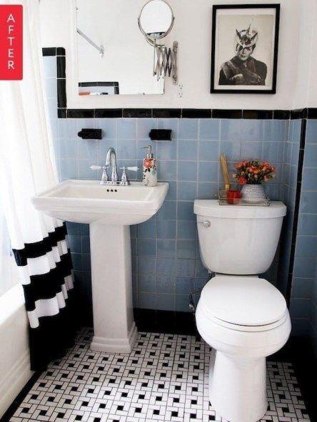 55 Modern Retro Vintage Bathroom Design Decorating Ideas Vintage