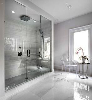 The White House Contemporary Bathroom Toronto By Urban Development Inc Stylish Bathroom Marble Bathroom Designs Minimalist Bathroom