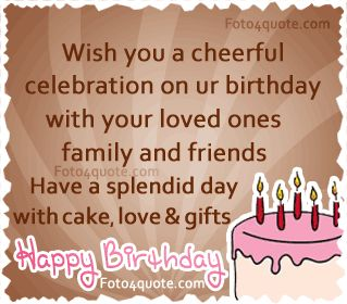 Birthday Celebration Quotes Simple Happy Birthday Wishes For Lover Hd Images Httpwww.wishesquotez