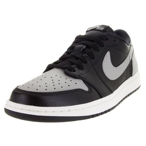 Nike Men's Air Jordan 1 Retro Low Og /Medium Grey/Sail Basketball Shoe
