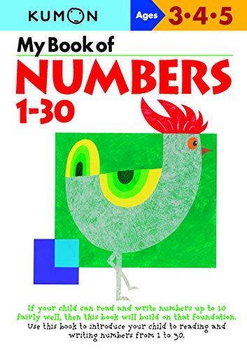 My Book Of Numbers 1 30 Kumon Series By Kumon 9784774307039 Paperback Kumon Worksheets Kumon Kindergarten Worksheets Kumon math worksheets pdf download