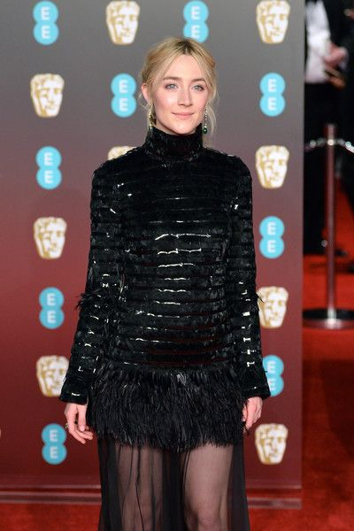Saoirse Ronan attends the EE British Academy Film Awards (BAFTA).