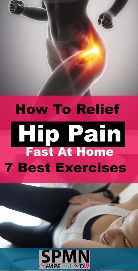 7 Exercises For Hip Pain Relieve Fast ( Best Exercise for Hip Pain and Lower back)