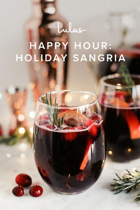 Sangria might have a reputation as a classic summer cocktail, but Christmas sangria is the seasonal sip you didn't know you needed. With flavors like cranberry, apple, cinnamon, and ginger, as well as prosecco to add some effervescence, our Sparkling Holiday Sangria recipe is about to become your new holiday favorite.
