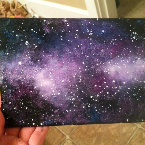 Galaxy Wall Art Diy Paulbabbitt Com