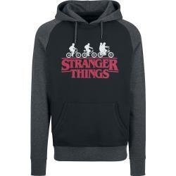Stranger Things Logo KapuzenpulloverEmp.de
