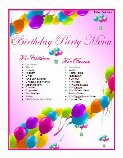 Microsoft Word Birthday Card Template Lovely Birthday Menu Template Microsoft Word Templa Birthday Card Template Birthday Card Template Free Free Birthday Card