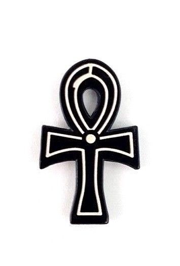 Egyptian Ankh Enamel Pin - Gothic Pin Eternal Life Witch