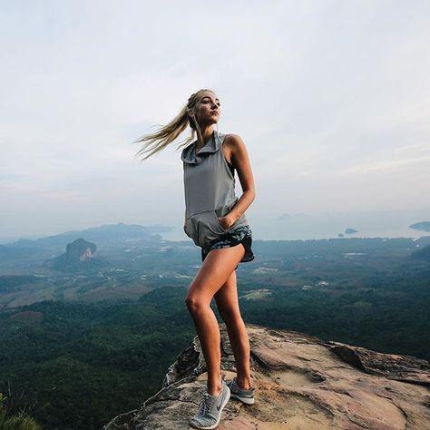 On top of the world in Krabi. #iamalbionfit @alexiaaleza