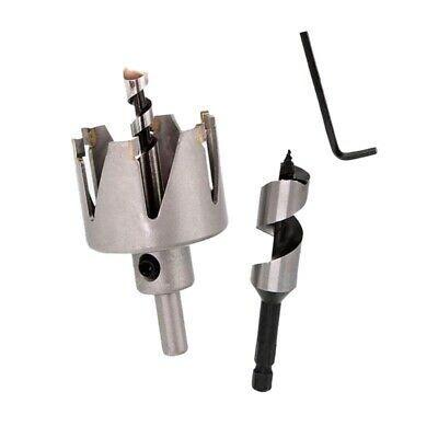 Sponsored Ebay 2x 54mm 2 1 8 Inch Six Tooth Hole Saw Drill Bits Door Lock Hole Opener B7x1