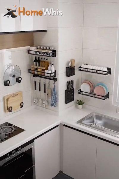 Diy Academy Kitchen Organization Kitchen Shelves Organization Wall Mounted Kitchen Shelves
