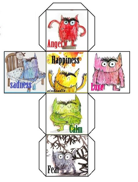 The Colour Monster The Colour Monster is a great resource to work on Feelings with your students. The author, Anna LLenas, takes the rea.