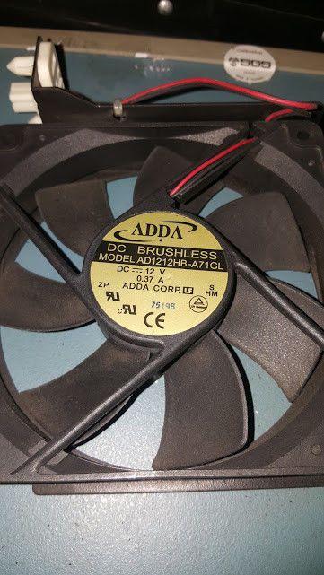 Adda Ad1212hb A71gl Dc 12v 0 37a Dc Brushless Fan Adda Corporation