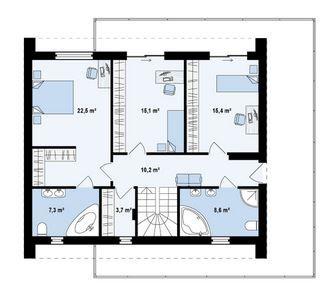 Planos De Casas De Dos Plantas Con Medidas Y Fachada Casas De Dos Plantas Planos De Casas Casas