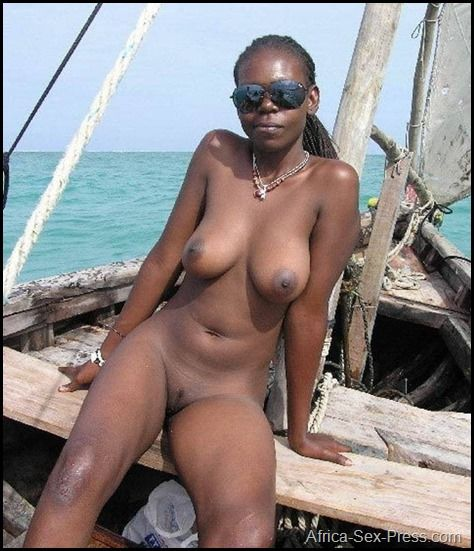 An African Holyday On The Boat With A Casual Girl Casual Girl