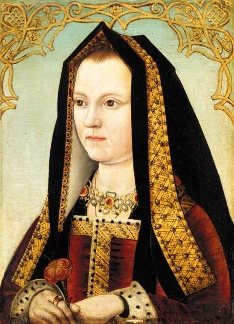 Elizabeth of York (1466-1503) Elizabeth I's paternal grandmother.