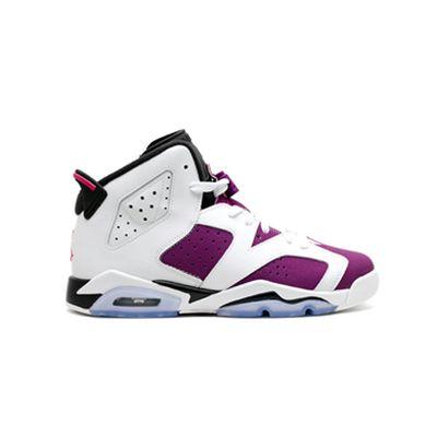 jordan 6 white purple