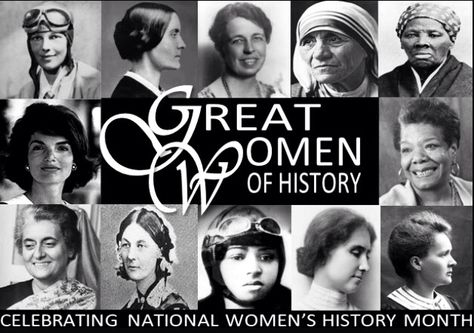 All of these great women from history are recognized in National
