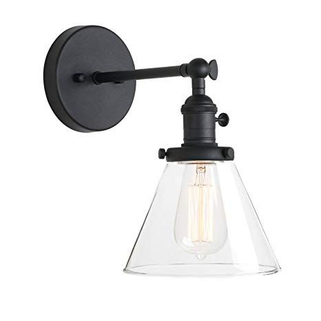 Pathson Industrial Wall Sconce With Switch Indoor Wall Lighting