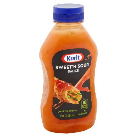 Kraft Sweet N Sour Sauce 12 Fl Oz Bottle Walmart Com Pork Sauce Dipping Sauces For Chicken Sauce For Eggs