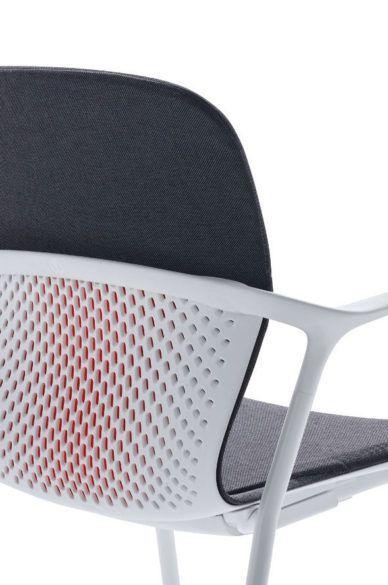 Color Accent Lemanoosh Officeergonomics 디자인 제품 의자