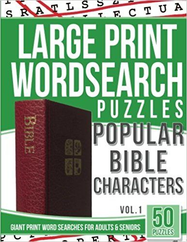 photo about Free Printable Extra Large Print Word Search identified as Hefty Print Wordsearches Puzzles Outstanding Bible People