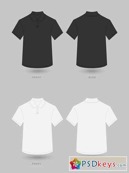Download Polo T Shirt Vector Mockup 2418227 Polo T Shirts T Shirt Design Template Shirt Designs