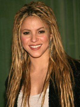 Straight Hair Dreads Shakira Dreads Hair Shakira Straight Dreads Hair Sha Dreads Hair Sha Shakir In 2020 Shakira Hair Straight Hairstyles Funky Hairstyles